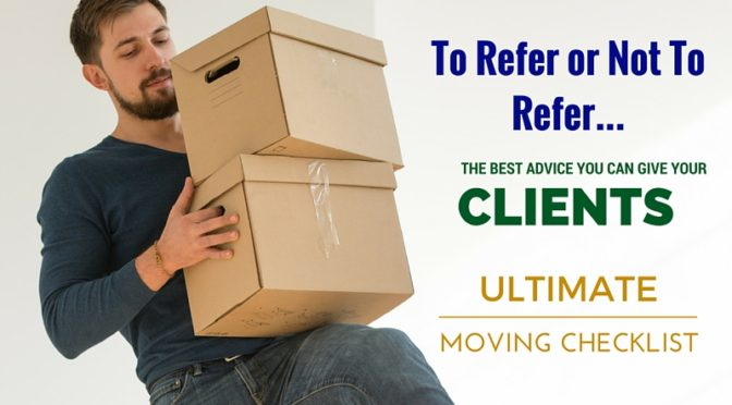 A Realtors Guide to Moving Companies