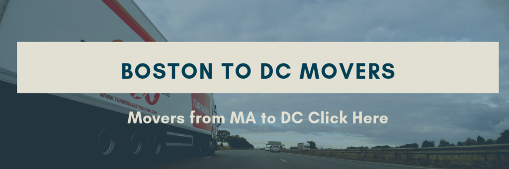 Movers Boston to DC